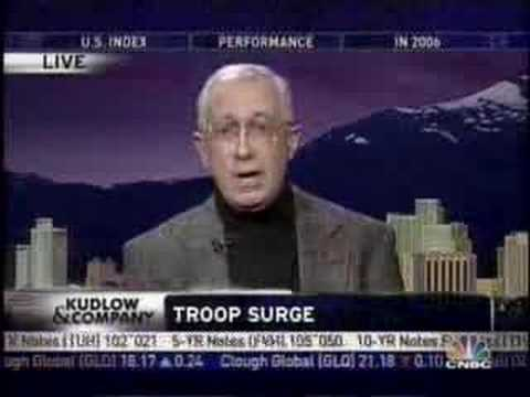 Bush Planning a Troop Surge in Iraq? CNBC Kudlow & Co.