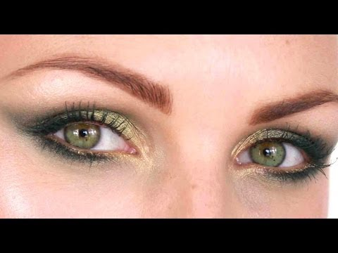 Green Moss Make-Up Tutorial