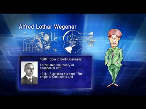 Top 100 Greatest Scientist in History For Kids(Preschool) - ALFRED LOTHAR WEGNER