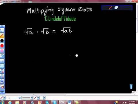 Multiplying Square Roots Radicals