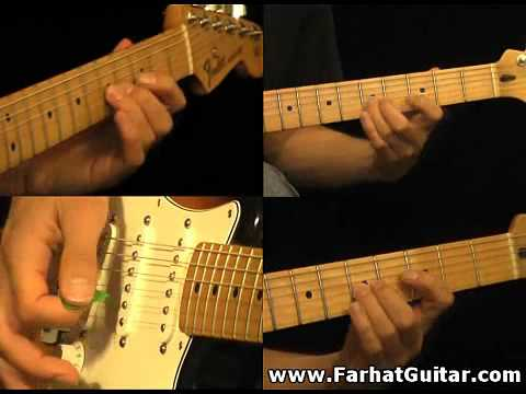 The unforgiven - Metallica Part 1-1 Guitar Cover FarhatGuitar.com