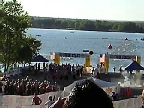 Triathalon for the Cure:  Cherry Creek Reservoir, Colorado