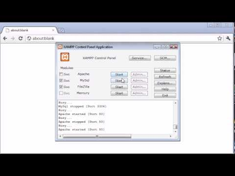 Beginner PHP Tutorial - 3 - Installing XAMPP Part 2