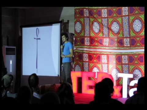 Intellectual Liberation of Cockroaches for Advancement of the Egyptian State : Ganzeer at TEDxTanta