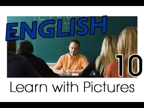 Learn English - English School Vocabulary