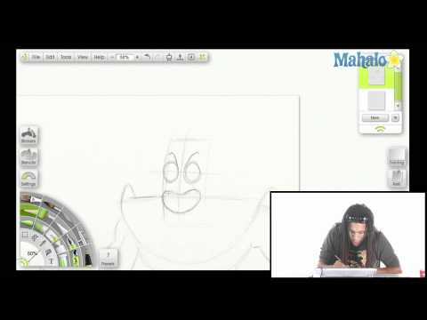How to Draw Man Ray From SpongeBob