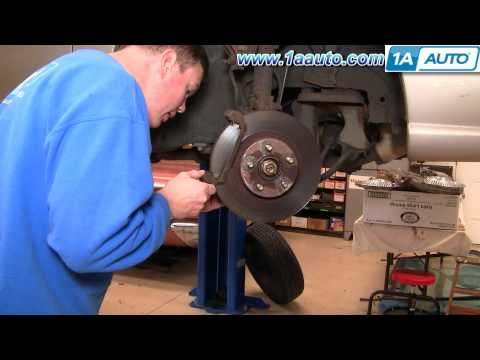 How To Install Replace Front Brakes Subaru Legacy Outback 99 1AAuto.com