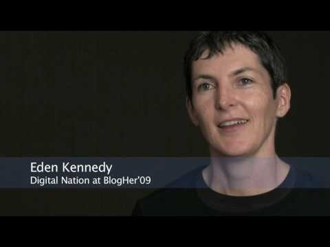 FRONTLINE Digital Nation | BlogHer | Eden Kennedy Interview