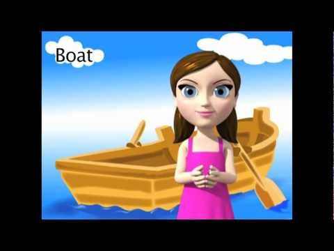 Boat - ASL sign for Boat - Animated