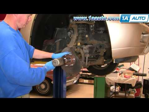 How To Install Repair Replace Front Wheel Hub Bearing Trailblazer Envoy 02-09 1AAuto.com