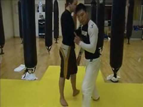 Grappling - Double Leg Takedown (basic structure)