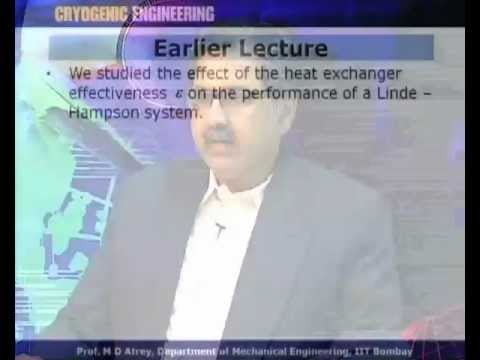 Mod-01 Lec-12 L12-Gas Liquefaction and Refrigeration Systems V