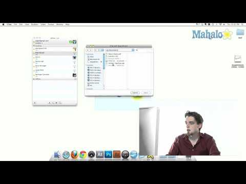 iChat - Chat Window Background - How to use Mac OS Snow Leopard