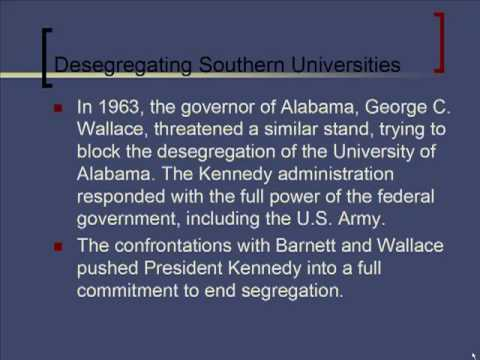 Schmidt Notes - US History - Unit 8 - Civil Rights Movement