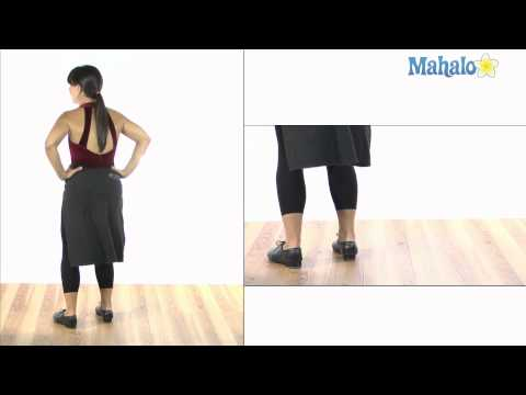 How to Do Turning Cramp Rolls in Tap Dance