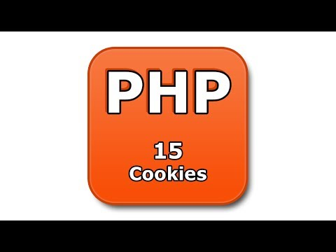 PHP Tutorial - 15 - Cookies