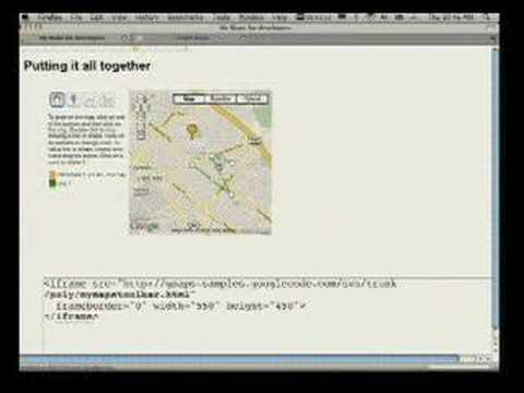 Google I/O 2008 - My Maps Editing API