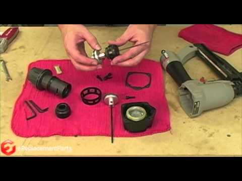 How to Install a Driver Maintenance Kit on a Porter Cable Nail Gun