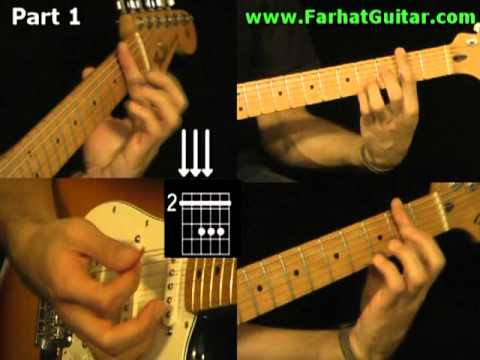 With a Little Help From My Friends The Beatles - www.Farhatguitar.com