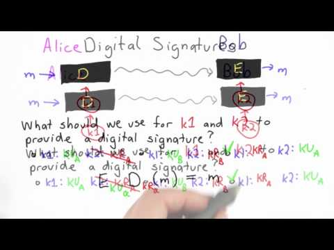 Signatures Solution - CS387 Unit 4 - Udacity