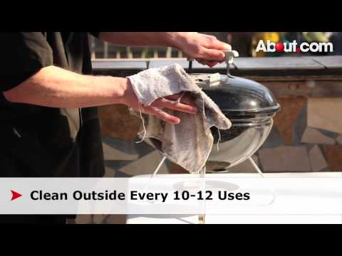 Tips for Easy Charcoal Grill Cleaning