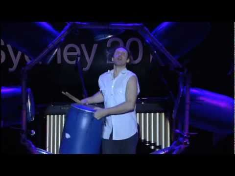 TEDxSydney - Ben Walsh - The Wheel of Drums