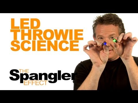 The Spangler Effect - LED Throwie Science Season 01 Episode 25