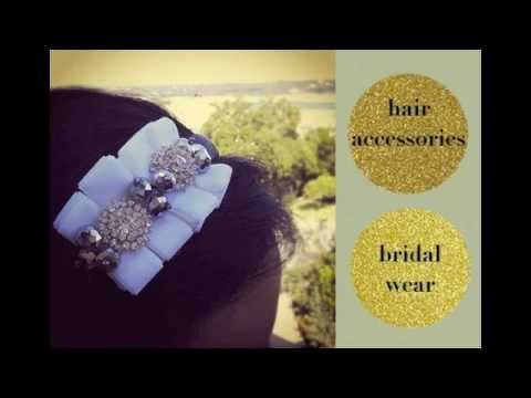 {CHRISTINE} How to make a Rhinestone & Ruffled headband