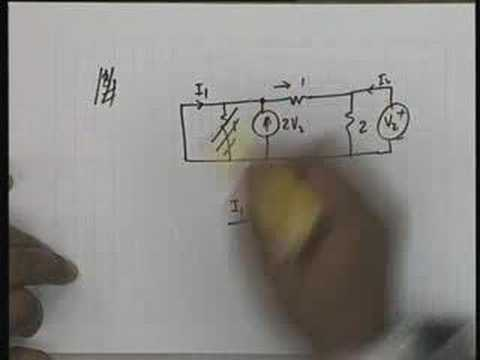 Lecture - 29 Problem Session 7 : Two-port Networks(Contd.)
