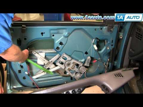 How To Install Replace Broken Front Window Motor Dodge Intrepid 93-97 1AAuto.com