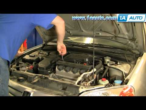 How To Install Replace Engine Air Filter Honda Civic 1.4L 1.6L 01-05 1AAuto.com