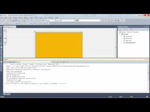 Creating a Silverlight project with Visual Studio 2010 | lynda.com