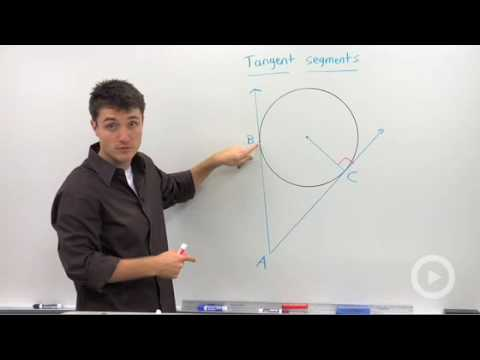 Geometry - Tangent Segments to a Circle