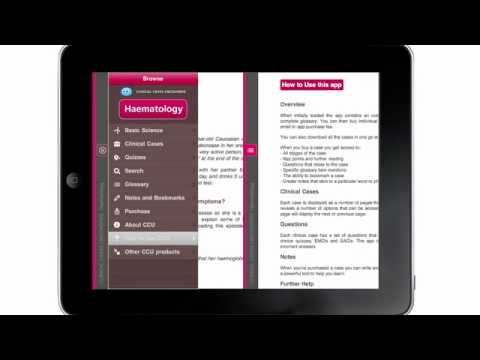 Haematology: Clinical Cases Uncovered Mobile App