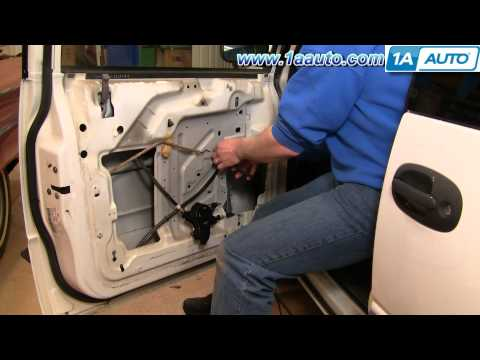 How to Install Replace Manual Window Regulator Dodge Caravan 96-00 1AAuto.com