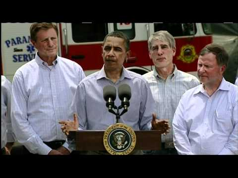 Obama Visits Colorado's Wildfire Sites