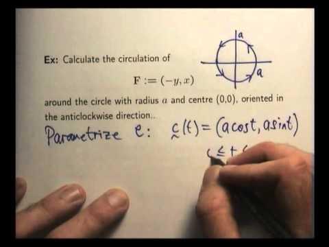 Line integrals and applications