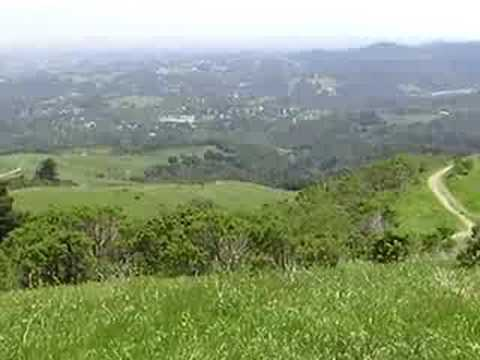 Portola Valley on the San Andreas Fault, California