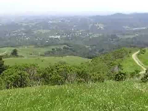 Portola Valley on the San Andreas Fault, California