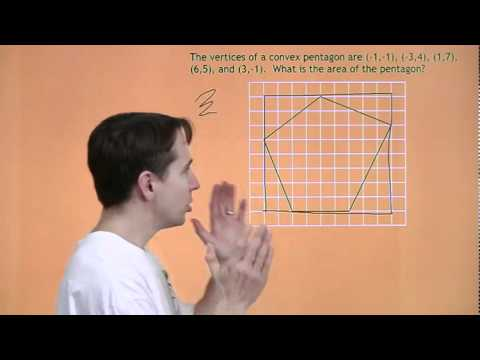 MATHCOUNTS Mini #18 - Areas of Irregular Convex Polygons