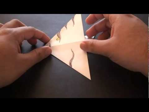 Origami Daily - 231: Easy Angelfish (Kids Origami) - TCGames [HD]