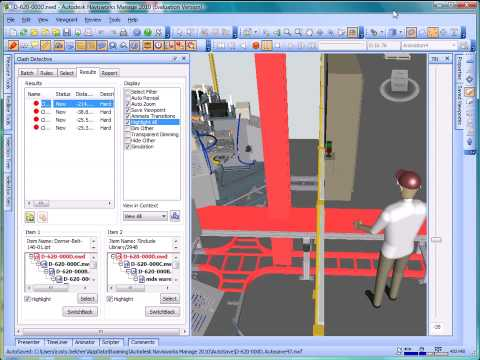 Autodesk Navisworks for manufacturing  Interference Checking