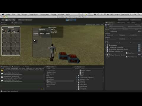 137. Unity3d Tutorial - Equipment Panel Part 2