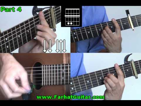 My Sweet Lord George Harrison Guitar Part  4 www.FarhatGuitar.com