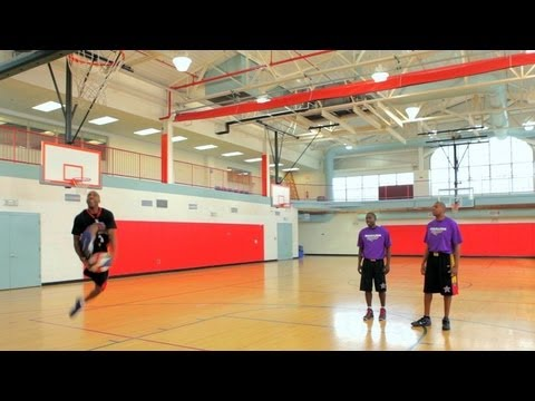 Basketball Tricks: Dribble through Your Legs As You Run