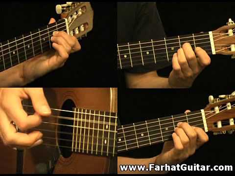 The unforgiven - Metallica Part 6 Guitar Cover FarhatGuitar.com