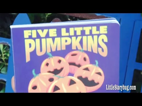 Preschool Halloween Story - 5 Little Pumpkins - Littlestorybug