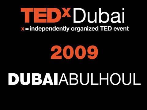 TEDxDubai - Dubai Abulhoul - 10/10/09