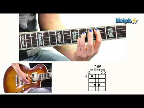 How to Play C#5 4th Fret 5th String Root on Guitar