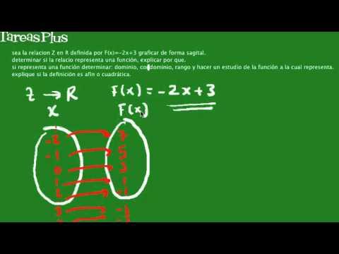 Análisis de una relación de Z en R para determinar si es función